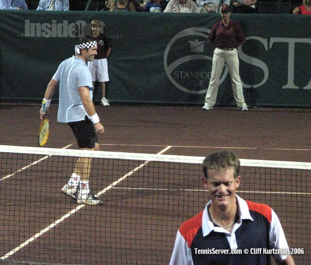 Tennis - Pat Cash - Wayne Ferreira