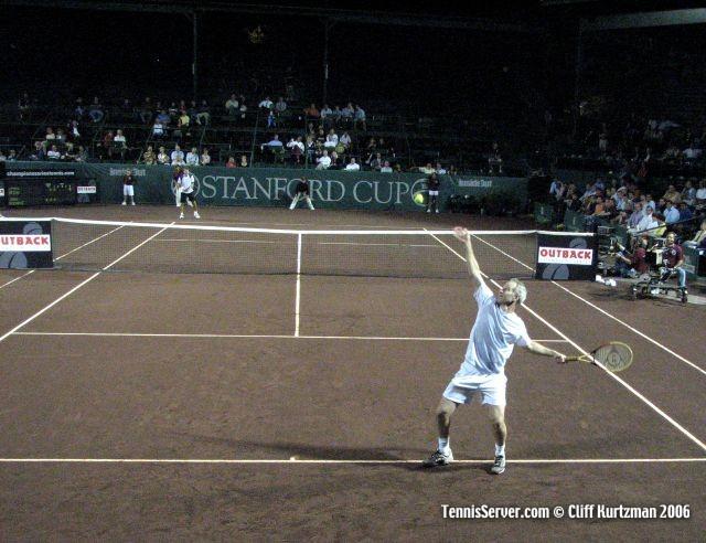 Tennis - John McEnroe - Jimmy Arias