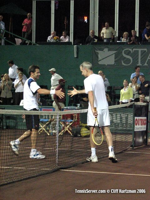 Tennis - John McEnroe - Jimmy Arias