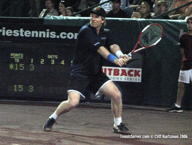 Tennis - Jim Courier