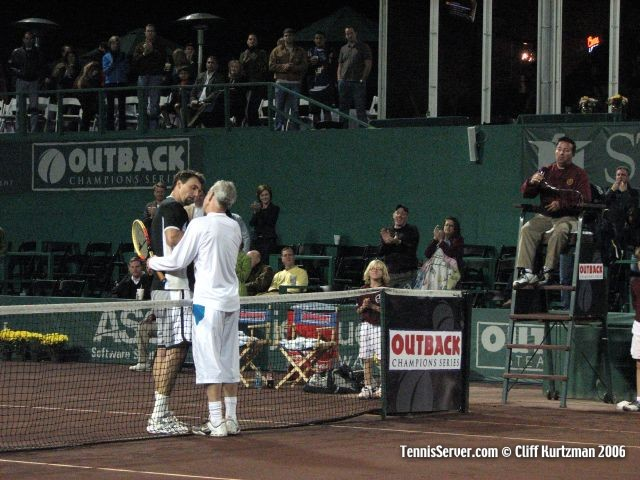 Tennis - John McEnroe - Goran Ivanisevic