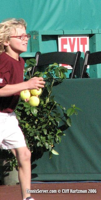 Tennis - Ball Boy