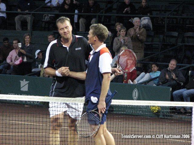 Tennis - Wayne Ferreira - Magnus Larsson