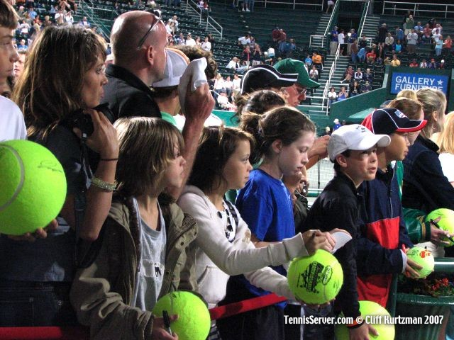 Tennis - Fans