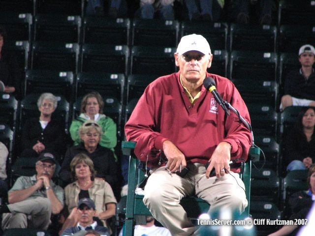 Tennis - Chair Umpire