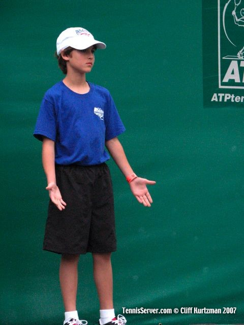 Tennis - Ball Boy Aden