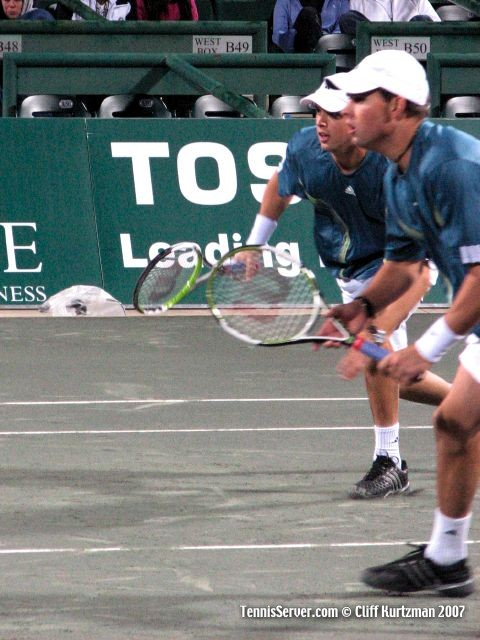 Tennis - Bob Bryan - Mike Bryan