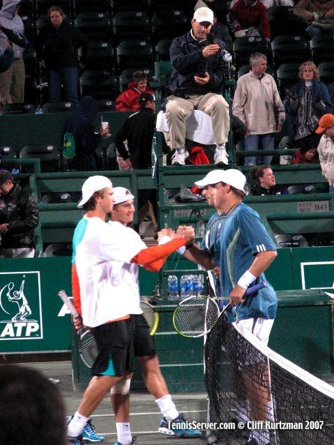 Tennis - Bob Bryan - Mike Bryan - Robert Kendrick - Alex Kuznetsov