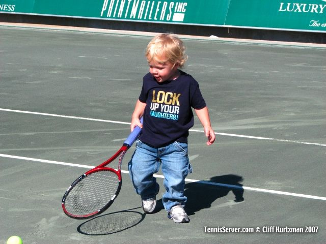Tennis - Mark Knowles' son