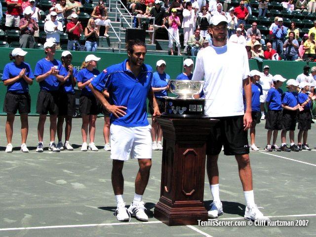 Tennis - Ivo Karlovic - Mariano Zabaleta