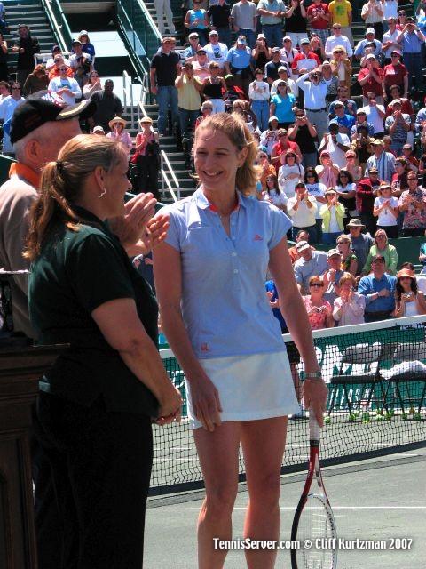 Tennis - Steffi Graf - Jim McIngvale - Linda McIngvale