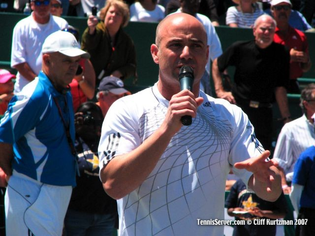 Tennis - Andre Agassi - Wayne Bryan