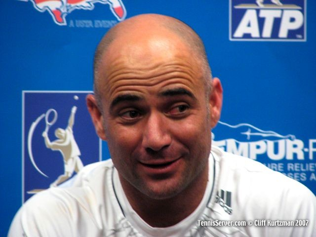 Tennis - Andre Agassi