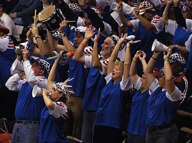 Tennis - USA Fans
