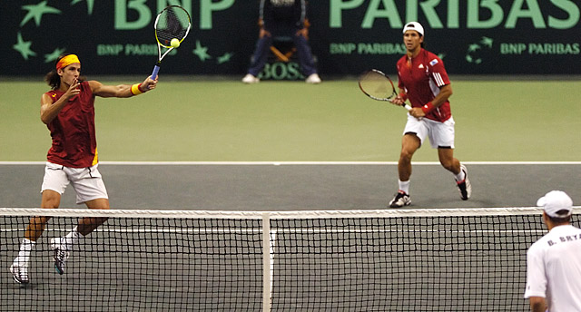 Tennis - Fernando Verdasco - Feliciano Lopez