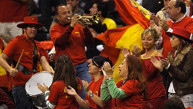 Tennis - Spain Fans