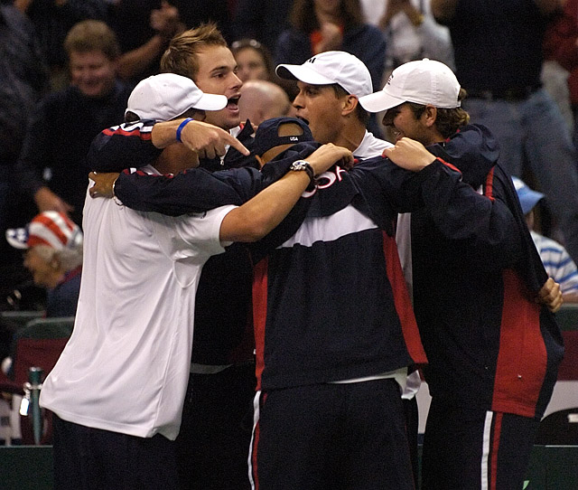Tennis - Mike Bryan - Bob Bryan - Andy Roddick - Mardy Fish - James Blake
