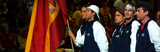 Tennis - Team Spain