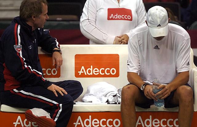 Tennis - Bob Bryan - Patrick McEnroe