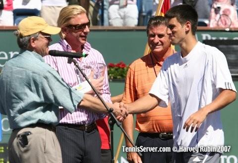 Tennis - Rafael Nadal - Novak Djokovic