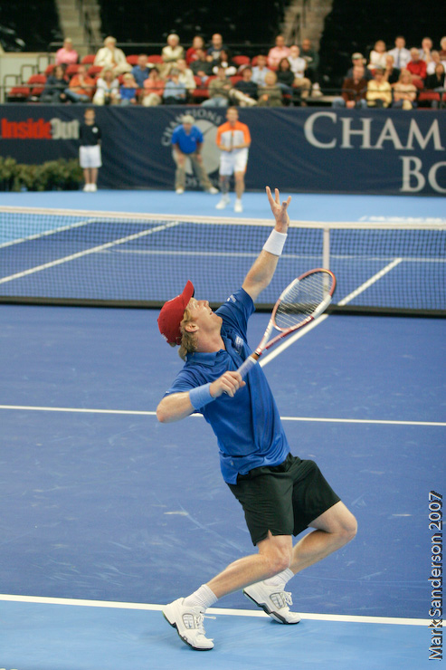Tennis - Jim Courier - Wayne Ferreira