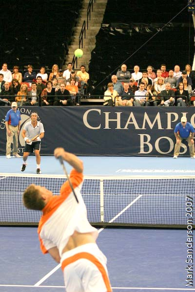 Tennis - Pat Cash - Wayne Ferreira