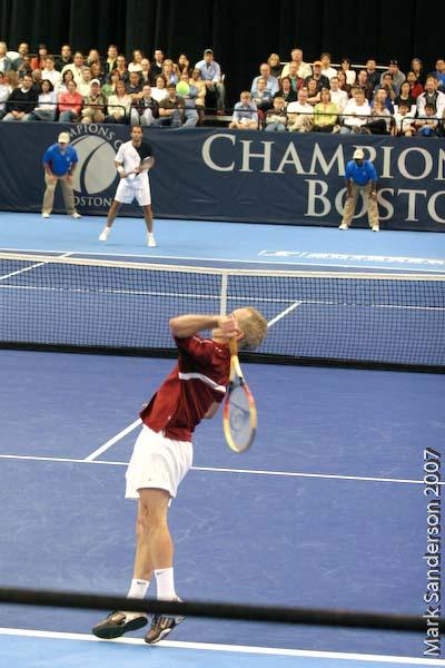 Tennis - John McEnroe - Pete Sampras
