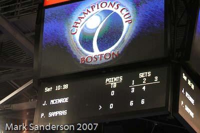 Tennis - Scoreboard