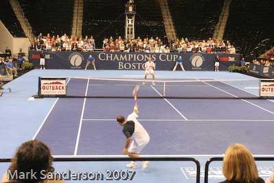 Tennis - Pete Sampras - Todd Martin