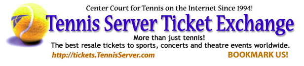 Tennis Server Ticket Exchange