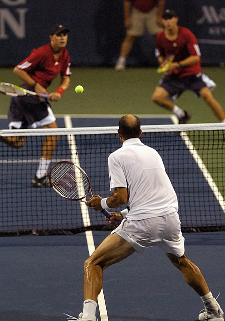 Tennis - Jim Thomas - Bob Bryan - Mike Bryan