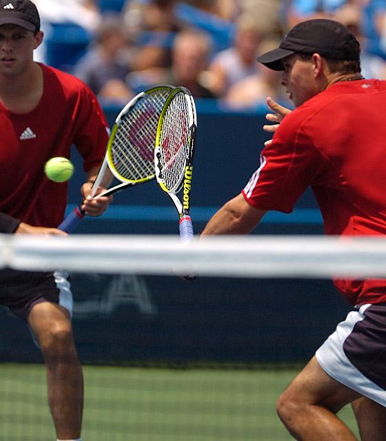 Tennis - Bryan Brothers - Bob Bryan - Mike Bryan