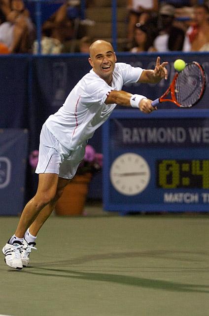 Tennis - Andre Agassi