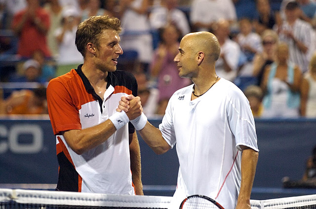 Tennis - Andrea Stoppini - Andre Agassi