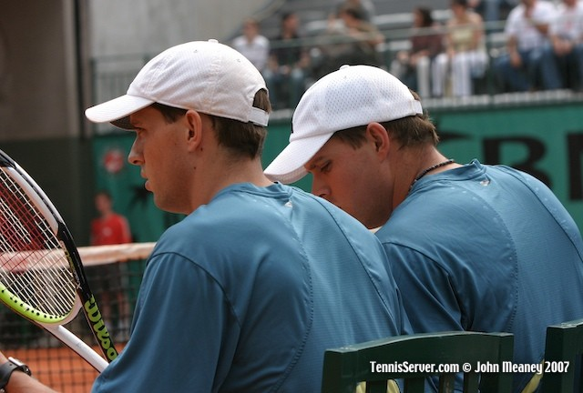 Tennis - Mike Bryan - Bob Bryan