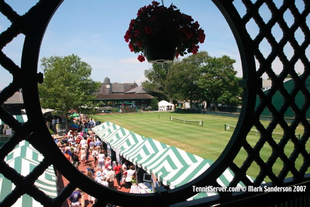 Tennis - Ground of the International Tennis Hall of Fame - Newport Rhode Island