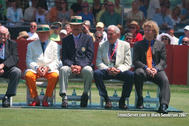 Tennis - Bud Collins - Jim Courier