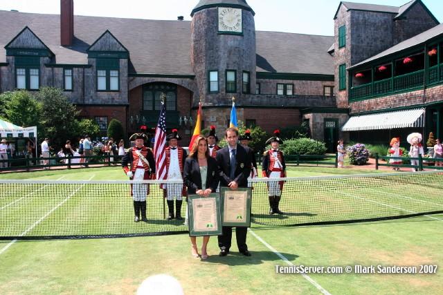 Tennis - Pete Sampras - Arantxa Sanchez-Vicario