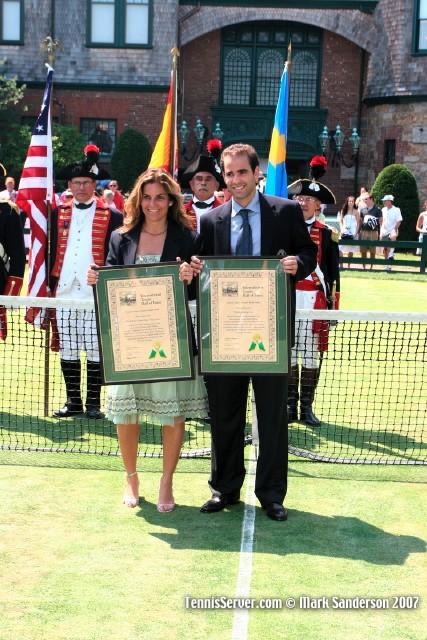Tennis - Arantxa Sanchez-Vicario - Pete Sampras