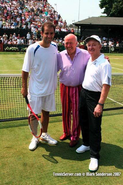 Tennis - Pete Sampras - Bud Collins - Rod Laver