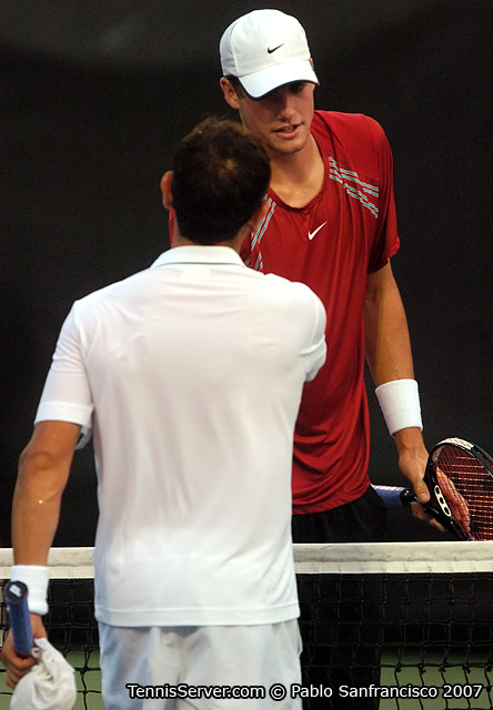 Tennis - John Isner - Wayne Odesnik