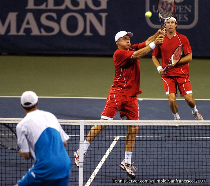 Tennis - Mike Bryan - Kevin Ullyett - Paul Hanley