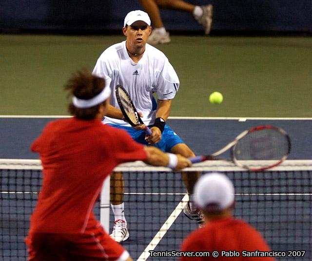 Tennis - Paul Hanley - Kevin Ullyett  - Bob Bryan