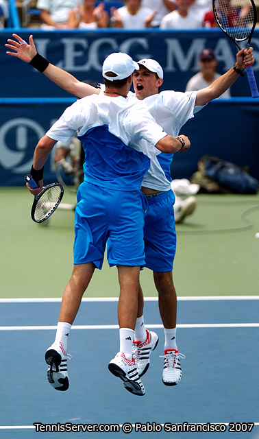 Tennis - Brothers Bob Bryan and Mike Bryan