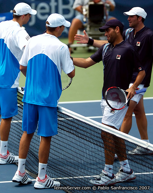 Tennis - Jonathan Erlich - Andy Ram - Mike Bryan - Bob Bryan