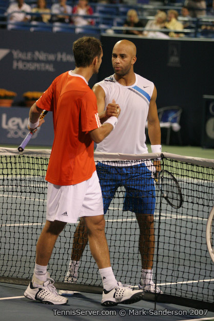 Tennis - James Blake - Paul-Henri Mathieu