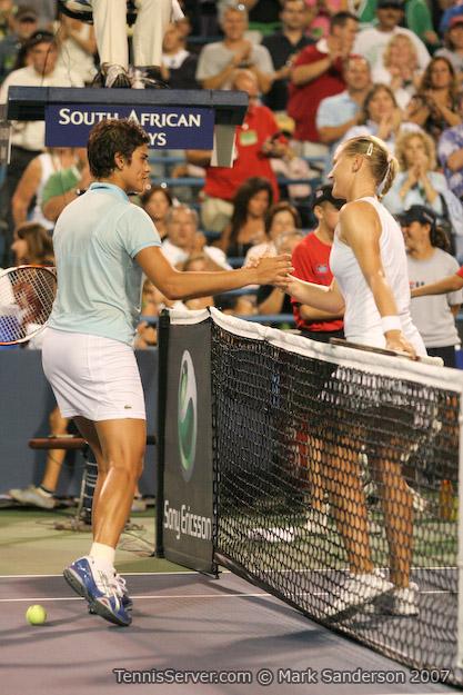 Tennis - Agnes Szavay - Eleni Daniilidou