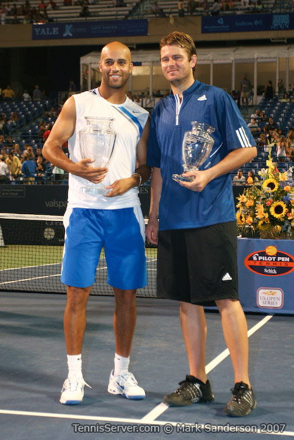 Tennis - James Blake - Mardy Fish