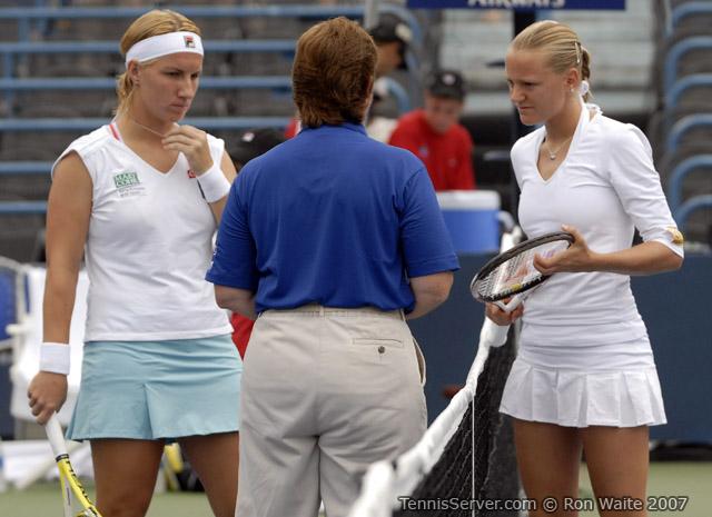 Tennis - Svetlana Kuznetsova - Agnes Szavay