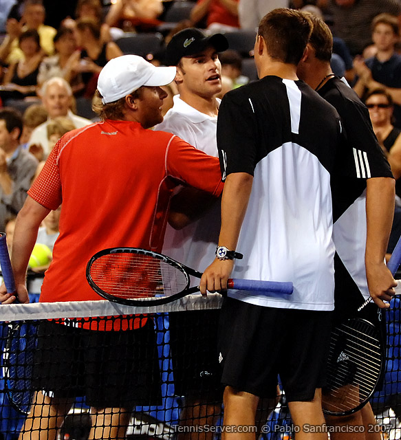 Tennis - Andy Roddick - John Roddick - Bob Bryan - Mike Bryan